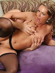 An older wife seducing her hot stepson at home