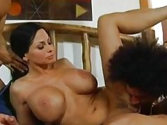 Harley Rain - Mommy fucked by 2 young guys