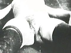 Vintage hard penis banging