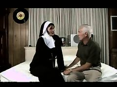 old man fucks a nun
