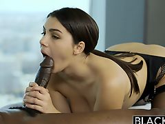 BLACKED Valentina Nappi Rimming Black Man With Passion