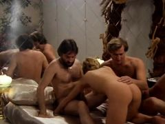 Crazy lesbian classic clip with Hubert Geral and Andre Kay