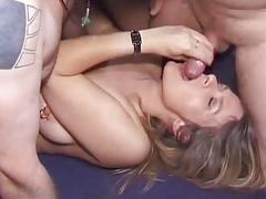 Wife In Heat Fucks With 10 Guys-Creampie