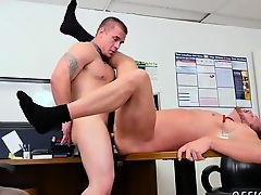 Teen black gays get anal fuck movies First day at work