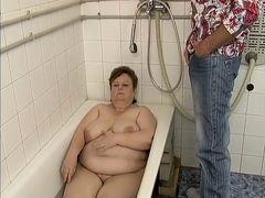 BBW Marie Fucked In Bathroom