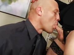 Dominant Shemale Boss Fucks Favorite Employee