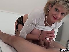Cheating english mature gill ellis presents her big melons